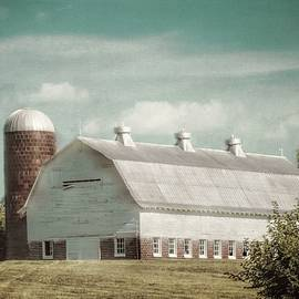 Melissa Bittinger - Old Dairy Barn and Silo