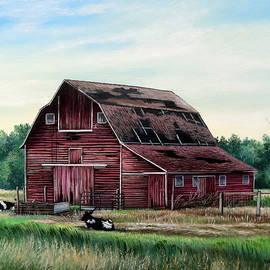 Daniel Butler - Old Dairy Barn- Lazy Afternoon