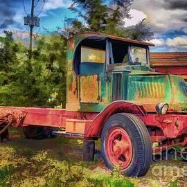 Arnie Goldstein - Old Delivery Truck