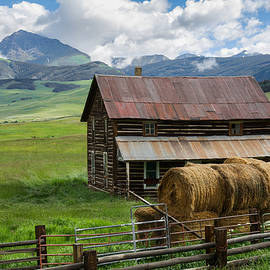 Aaron Spong - Old Farm House and Teocalli Mountain