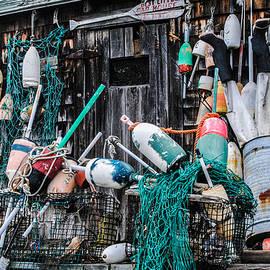 Linda  Howes - Old Fishing Shack in Bar Harbor
