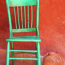 Brenda Tharp - Old green chair.
