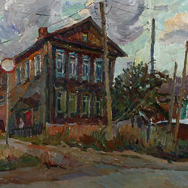 Juliya Zhukova - Old house at sunset
