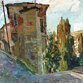 Juliya Zhukova - Old house in Veles