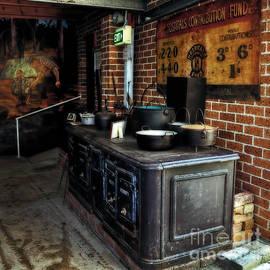 Kaye Menner - Old Iron Stove - Oven