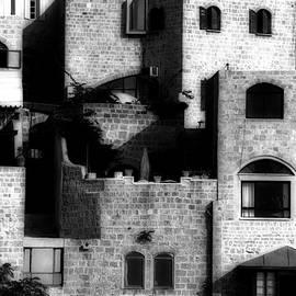 Isaac Silman - Old Jaffa light and shadows games