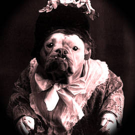 Tisha McGee - Old Lady English Bulldog