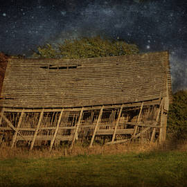 Kathy Krause - Old Leaning Corn Crib