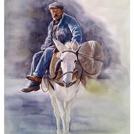 Alber Assi - Old man on mule