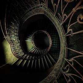 Jaroslaw Blaminsky - Old metal ornamented staircase