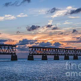 Old rail bridge at Florida Keys - Elena Elisseeva