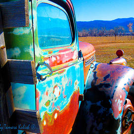 Tamara Kulish - Old Rusted Truck Near Taos 4