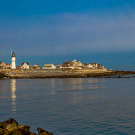 Brian MacLean - Old Scituate Light from the Jetty