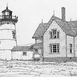 Ira Shander - Old Stage Harbor Lighthouse Cape Cod