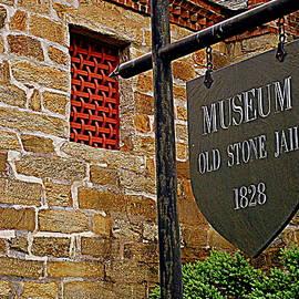 Arlane Crump - OLD STONE JAIL MUSEUM - Palmyra, VA
