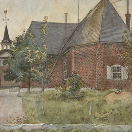 Old Sundborn Church. From A Home - Carl Larsson