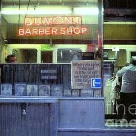 Miriam Danar - Old-Time Barber Shop - NYC 1975