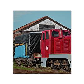 Antonio Costa - Old Time Vintage Train Locomotive
