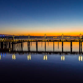 Rob Green - Old Town Pier Blue Hour Sunrise