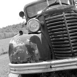 Dwight Cook - Old truck b and w