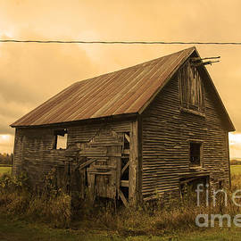 Alana Ranney - Old Weathered Barn