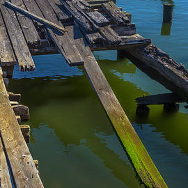 Old Weathered Dock - Garry Gay