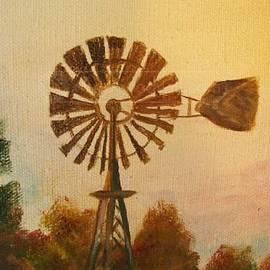 Cindy Riley - Old Windmill