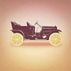 Philipp Rietz - Oldtimer Historic Car with lemon wheels