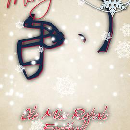 OLE MISS REBELS CHRISTMAS CARD - Joe Hamilton