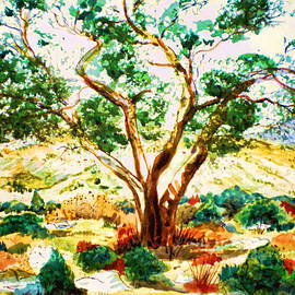 Valerie Anne Kelly - Olive tree
