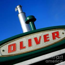 Oliver Tractor Nameplate - Olivier Le Queinec
