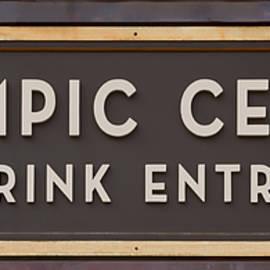 Stephen Stookey - Olympic Center 1932 Rink Entrance