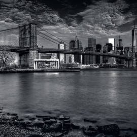 Mike Deutsch - Ominous Clouds Over Brooklyn Bridge