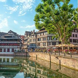 W Chris Fooshee - On a canal in Strasbourg France