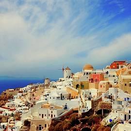 Yuri Hope - On the island of Santorini, Greece