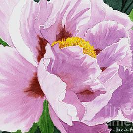 Hao Aiken - One Pretty Peony - Watercolor