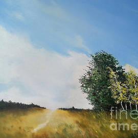 Maja Sokolowska - One summers day oil painting
