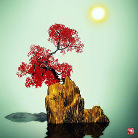 GuoJun Pan - Red tree 2