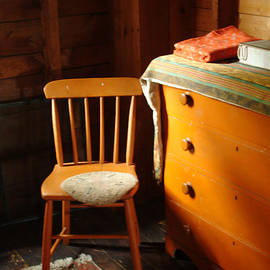 Georgia Sheron - Orange Chair