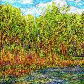 Joel Bruce Wallach - Orange Flowers Of The Lake