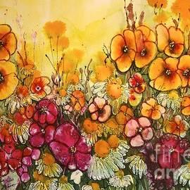 Shirley Sykes Bracken - Orange Glow