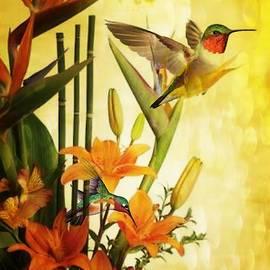 Maria Urso - Orange Lily Delight
