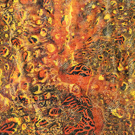Orange Modern Art - Tiger Lily - Sharon Cummings - Sharon Cummings