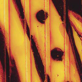 Claire  Doherty - Orange over Black