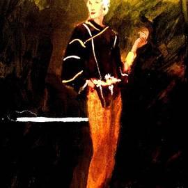 Harry WEISBURD - Orange Pants