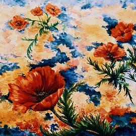 Jan Law - Orange Poppies