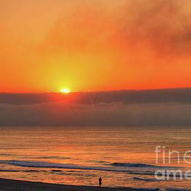 Jeff Breiman - Orange Sunrise On Long Beach Island