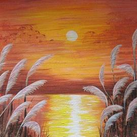 Jennifer Campbell Brewer - Orange Sunset