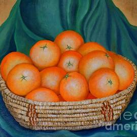 Caroline Street - Oranges in a Basket