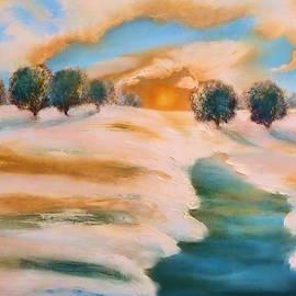 Valerie Anne Kelly - Oranges in the snow